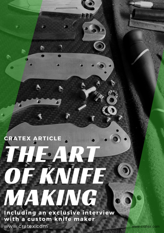 Knifemaking Tools From A to Z - CRATEX Abrasives
