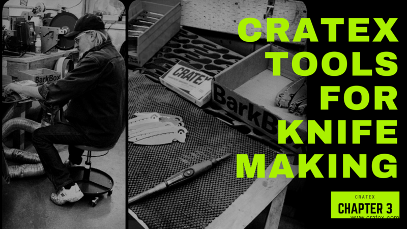 CRATEX Tools for Knifemaking