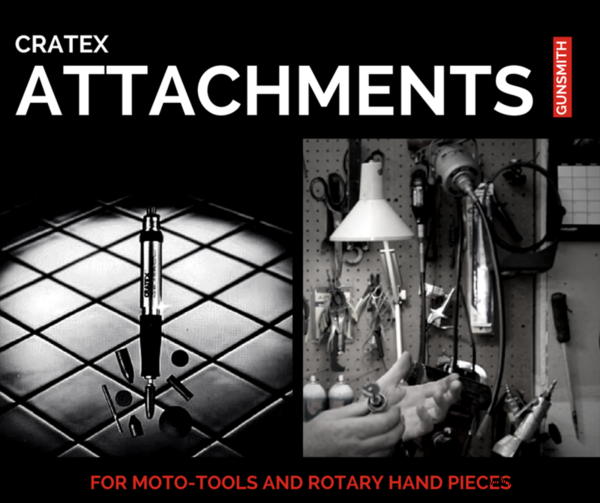 Cratex tools for gunsmithing gunsmith supplies moto tools are quite handy in a gunsmith workshop for doing a wide variety of small chores and cratex tools are a perfect fit for foredom or dremel rotary fandeluxe Choice Image