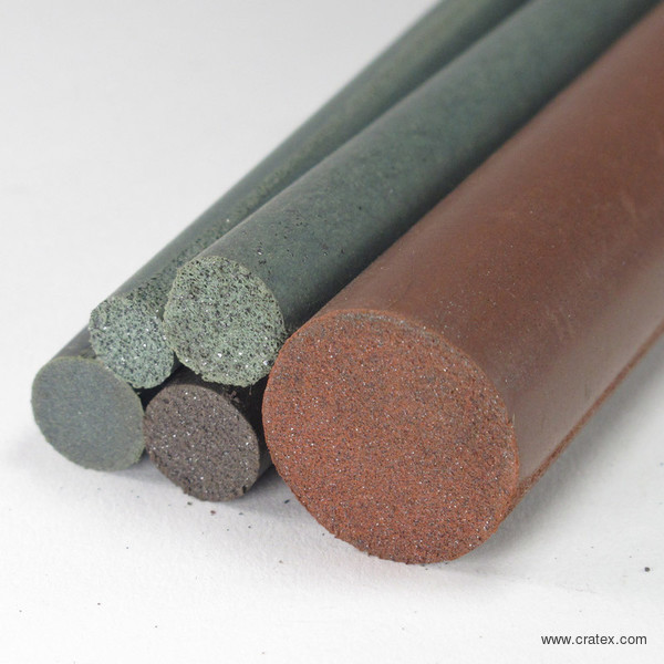 Cratex Abrasives - Round Rubber Sticks