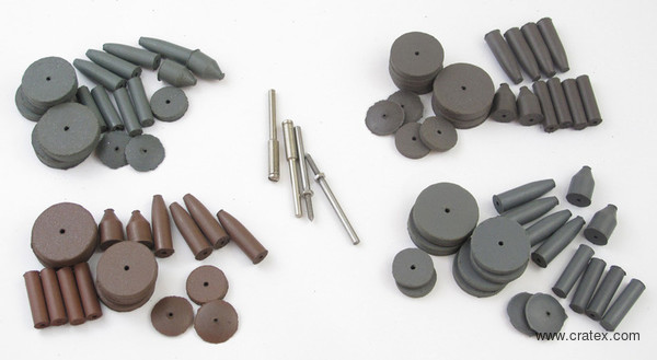 Cratex Rubberized Abrasive Introductory Kit No. 777