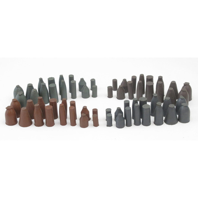 Cratex Rubberized Abrasive Point Test Kit No. 778 (64 points & 4 mandrels)