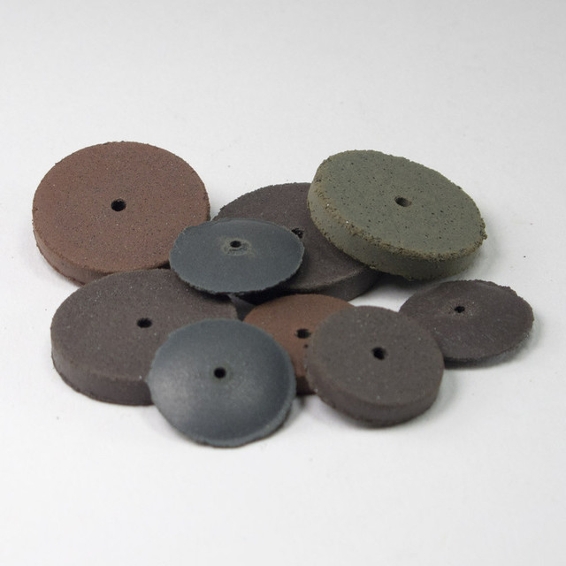 Cratex Abrasives – Small Rubber Polishing Wheels